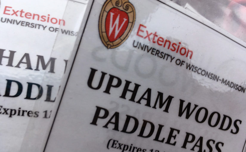 Paddle Pass for Upham Woods Canoe Launch