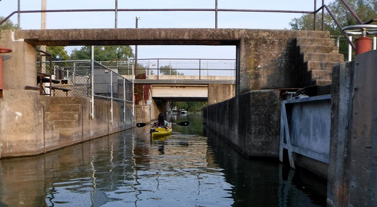 Babcock Park - open lock